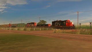 Trainz: A New Era - Rural CN Grain Train
