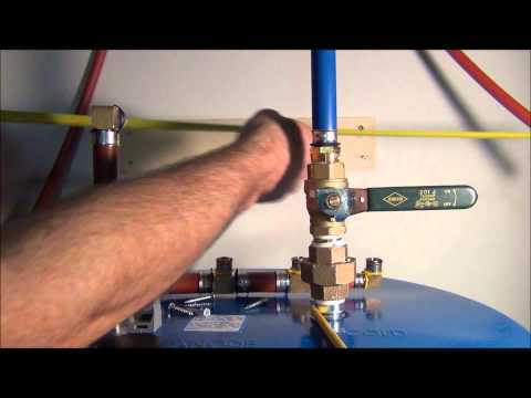 How to install Pex Pipe Waterlines in Your Home!  Part 4. Plumbing Tips.