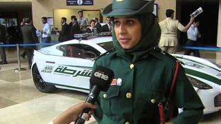 Dubai Police's super car fleet!