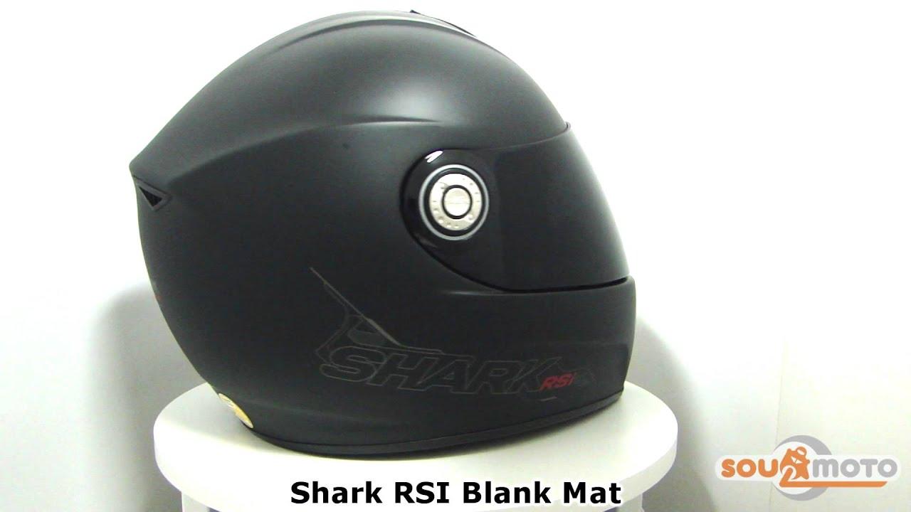 Capacete Shark RSI Blank Mat - www.soulmoto.com.br -  SoulMoto - YouTube 123a06a3283