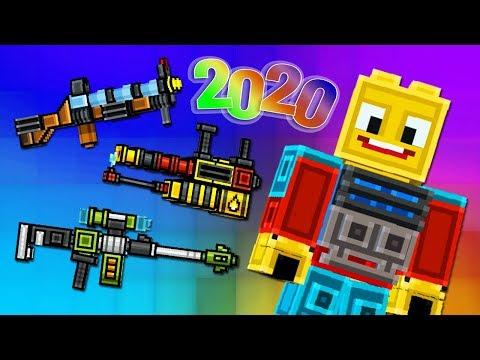 Pixel Gun 3D - НАБОР БЛОКМЕНА 2020 💥 BLOCKMAN SET (456 серия)