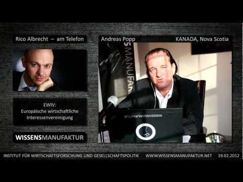 Rico Albrecht - Andreas Popp - Neues über die Aktivitäten der Wissensmanufaktur