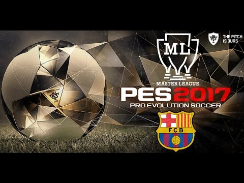 PES2017/ BARCELONA VS REAL MADRID/ LIGA MASTER/ PRIMER DERBY// PS4