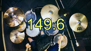 149.6 - bodyslam   Drum cover   Beammusic [4K]