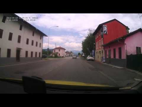 Italy. Provincial road SP4 (Udine), 0-6 km. 2014-06, 1x