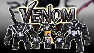 [ Minifig Review ] รวมเวน่อมทุกเวอร์ชั่น : All Venom minifigure