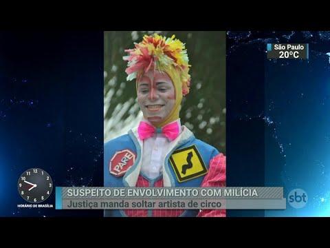 Justiça manda soltar palhaço preso durante ação policial no Rio   SBT Brasil (20/04/18)