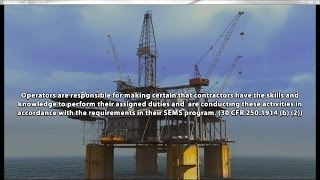 Offshore Drilling Rig Simulation
