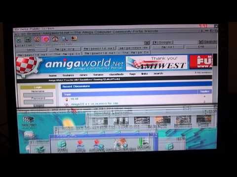 How To Connect An Amiga To The Internet
