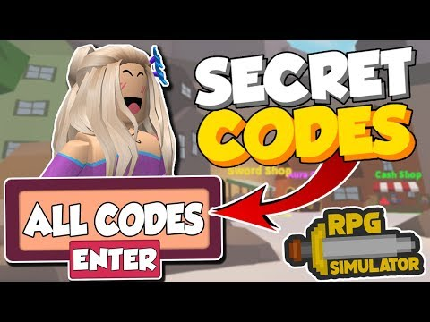 *NEW* ALL SECRET CODES IN RPG SIMULATOR!! (Roblox)