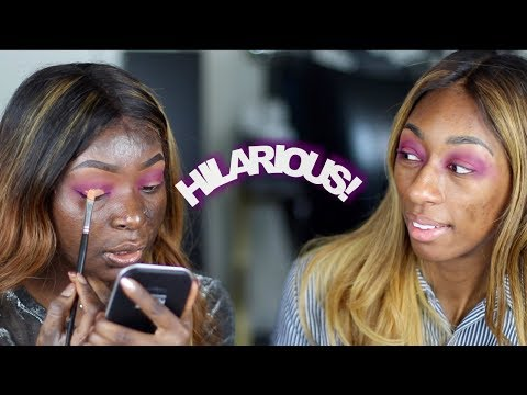 Teaching Lalasizahands89 How To Do Makeup | Shalom Blac