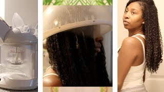 At Home Steam Treatment Routine + 4 Year Natural Hair Update