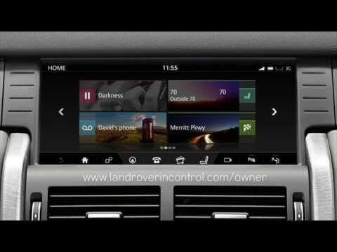2017 Discovery Sport | InControl Apps | Land Rover USA