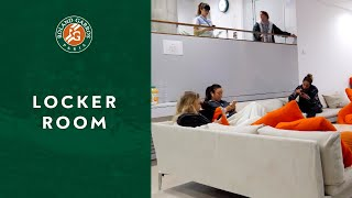 Inside Roland-Garros - Locker Room | Roland-Garros 2019