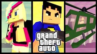 Minecraft Mod: GTA 5 MODPACK! (Grand Theft Auto Mod)