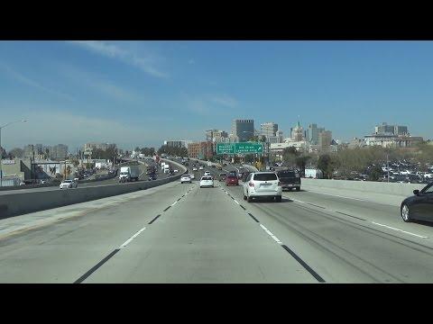Interstate 880 North in Oakland, California