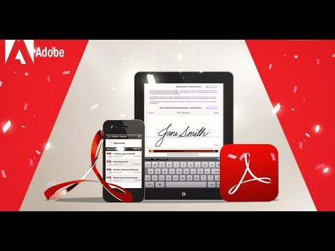 How To Download Use Adobe Reader PDF File Android Tablets App