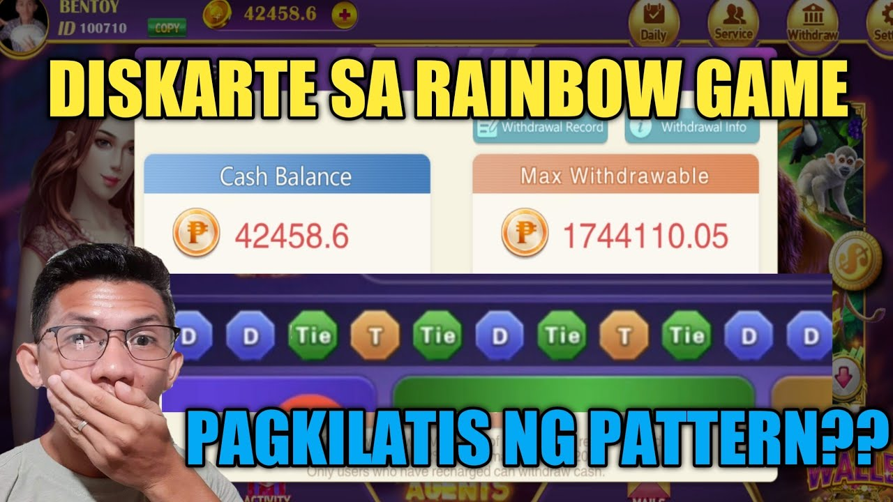 DISKARTE SA RAINBOW GAME - PAGKILATIS NG PATTERN