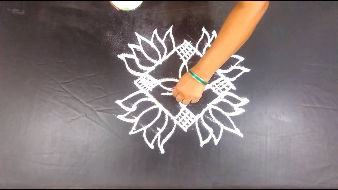 120 Simple Kolam Design Art Easy Rangoli Designs Creative Floor Drawing Festival Arts You