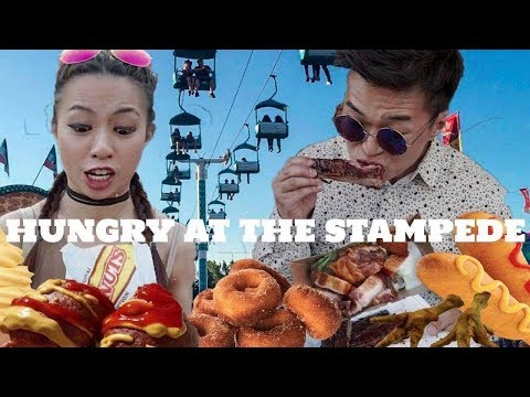 MUST TRY Top Foods at the Calgary Stampede - What To Eat Midway Carnival Foods - Stampede Eats 2017