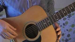Налаштування п'ятої (5) струни гітари - нота Ля (A)