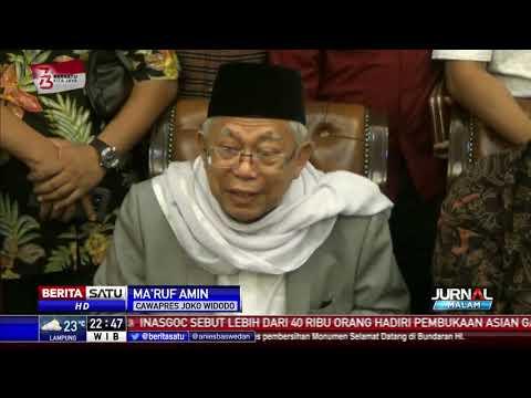 Jadi Cawapres Jokowi, Ma'ruf Amin Sudah Tahu Tanda-tandanya