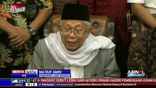 Download Video Jadi Cawapres Jokowi, Ma'ruf Amin Sudah Tahu Tanda-tandanya MP3 3GP MP4