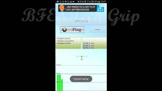 How To Ping Using Android Phone App|| Ping Tool||BFE&Tech Grip