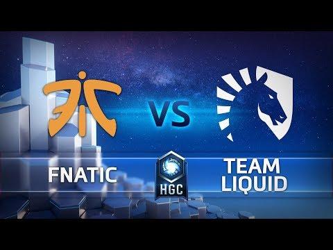 HGC EU - Phase 1 Week 5 - Team Liquid vs. Fnatic - Game 2