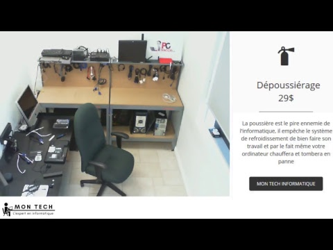 Mon Tech Informatique - Atelier en direct