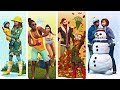 The Sims 4: Seasons - Exclusive Gameplay (Winter, Fall, Spring, & Summer)