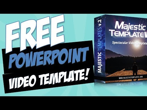 Free Majestic Volume 2 Powerpoint Video Template Youtube