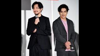 俳優・松田龍平(34)が3日、都内で行われた関ジャニ∞・錦戸亮(33...