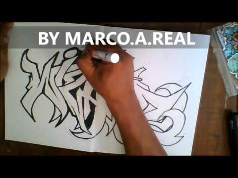 graffiti blackbook drawing wizard with a paint marker and