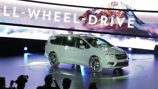 Chrysler unveils all-wheel drive Chrysler Pacifica