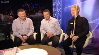 mark williams vs neil robertson uk masters snooker 2012 qf frame 10 part 2 including interview