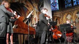 """""""Les Solistes Francais"""" Play Bach Sainte-Chappelle, Paris"""