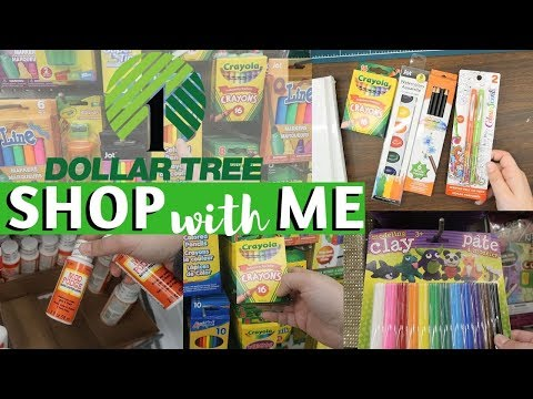 Cheap Art Supplies TAKE 2 || Dollar Tree Shop With Me + Review