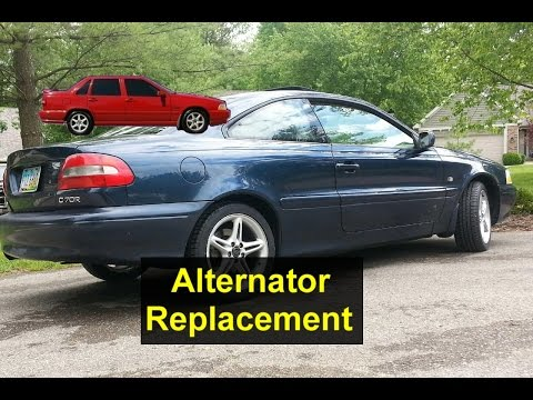 Alternator replacement, Volvo C70, S70, V70, etc. – VOTD