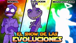 LA MEGAEVOLUCION DEL HOMBRE MORADO - EL SHOW DE LAS EVOLUCIONES
