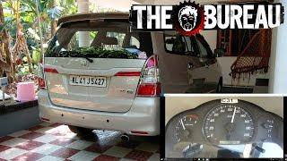 Toyota Innova 2.5 0-100 kmph Acceleration | TGB Acceleration