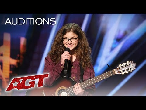Teenager Sophie Pecora Sings And Raps About Bullying - America's Got Talent 2019