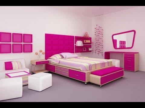 غرف نوم اطفال بناتى حديثة 2019 Modern Girls Bedrooms