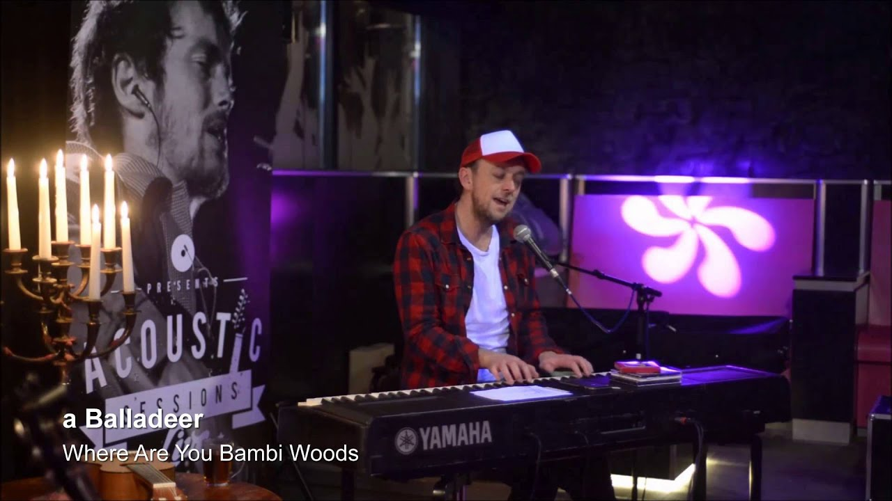 a balladeer - where are you bambi woods - youtube
