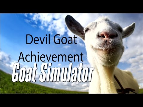 Goat Simulator - Devil Goat - Achievement...