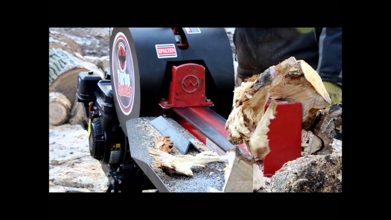 Außergewöhnlich Holzspalter Turbo Spalter Schwungradspalter ORIGINAL - www.WEMATIK @KP_82