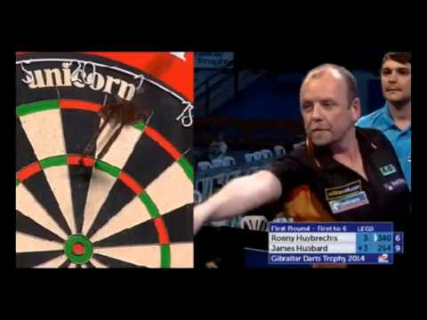 PDC Gibraltar Darts Trophy 2014 - First Round - Ronny Huybrechts vs. James Hubbard
