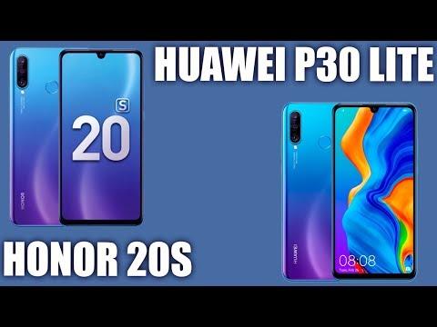 Honor 20S Vs Huawei P30 Lite. Какой взять? И Так ли похожи?
