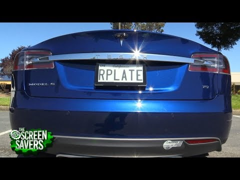 The New Screen Savers 152: World's First Digital License Plate