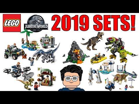 LEGO Jurassic World 2019 Sets!